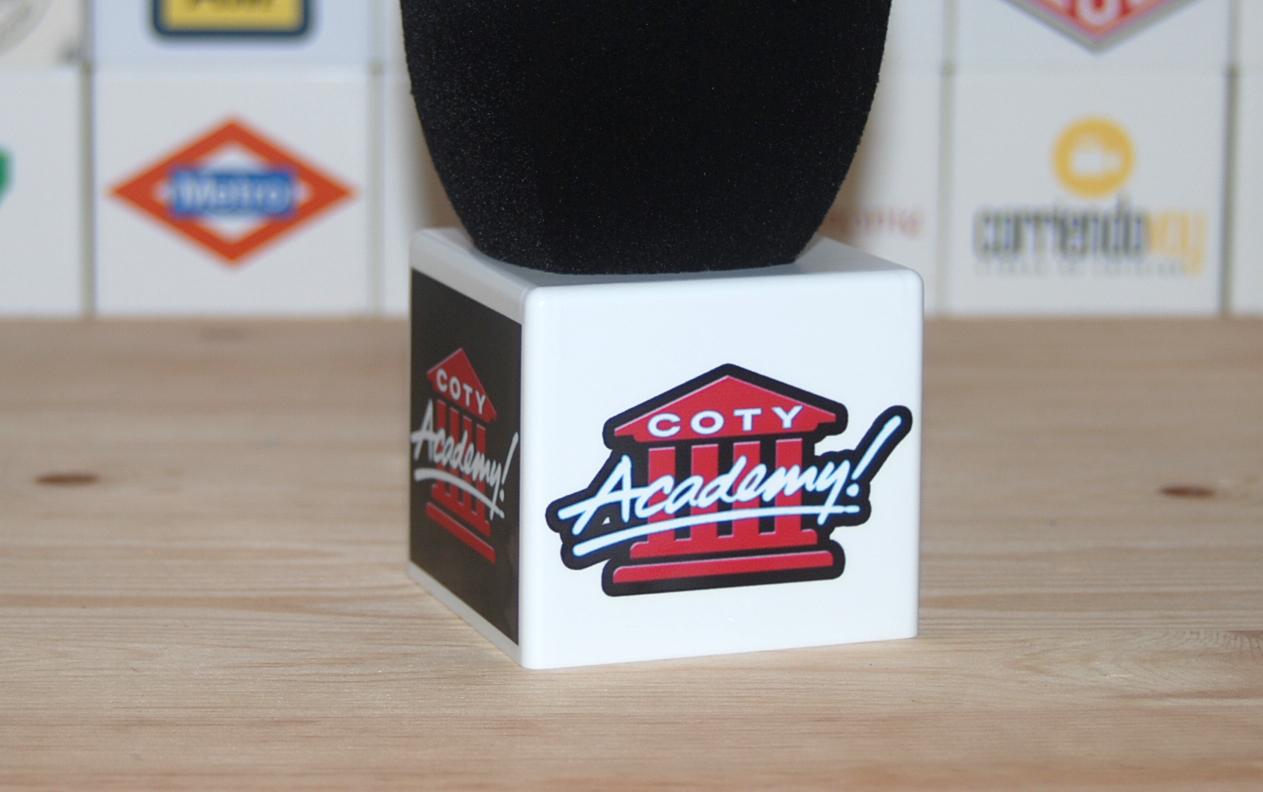 Coty Academy Mic Flag