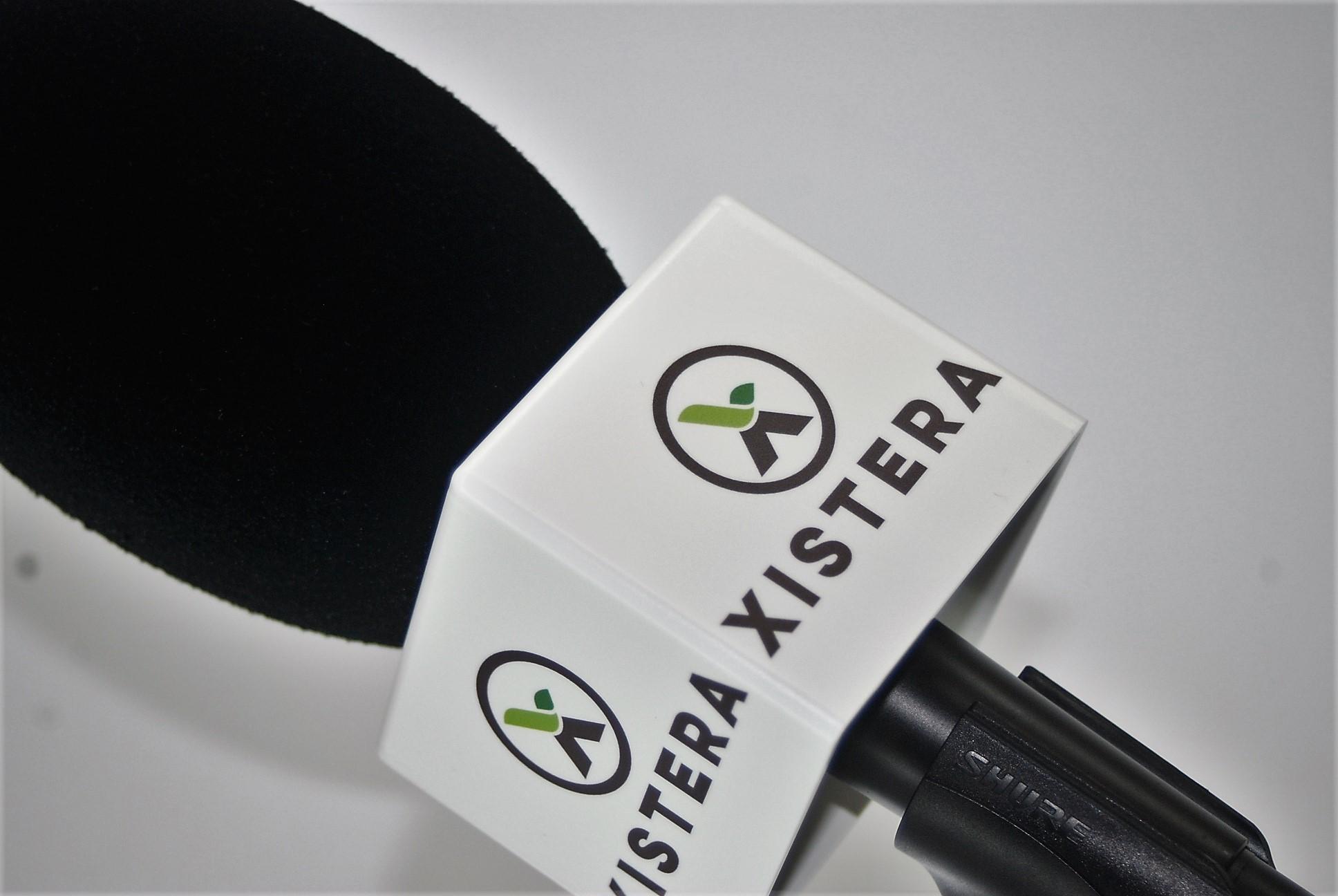 Cubilete Micrófono con logo